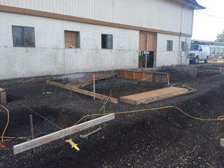 Isolation/Entry Excavation and Concrete Prep