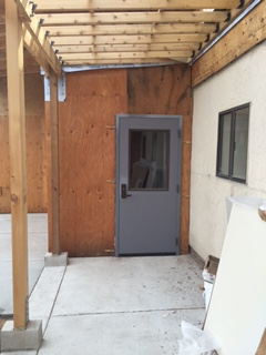 Exterior Door to Isolation Entry