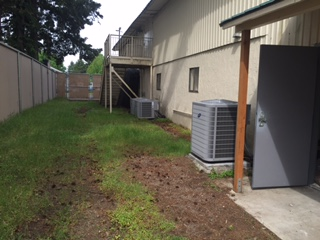 HVAC/Backyard